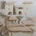 Pommerol - Croquis de Monique Brochet